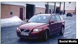 Автомобиль, арендованный Жуковским в Швеции.