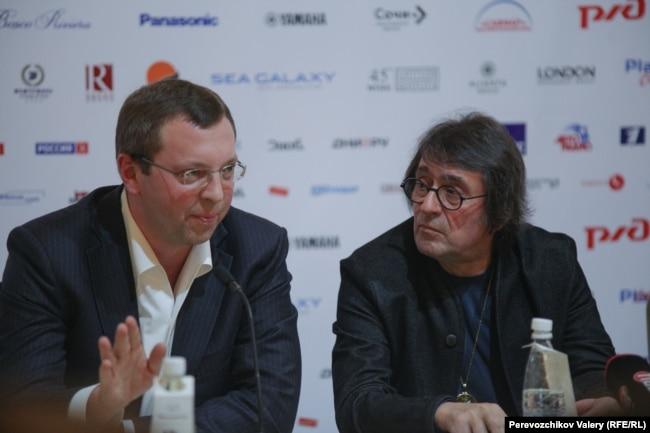 Исполнительный директор фестиваля Дмитрий Гринченко (слева) и арт-директор фестиваля Юрий Башмет