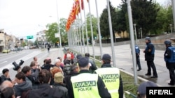 Архивска фотографија: протест на стечајни работници