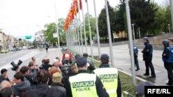 Протест на стечајните работници