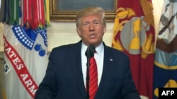 رئیسجمهوری آمریکا نام جانشین بغدادی را ذکر نکرده و تنها گفته است که او «اکنون مرده است».