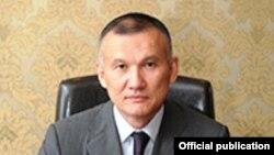 Әділет министрі болып жүрген кезіндегі Берік Имашев.