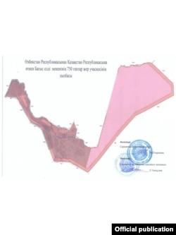 Карта села Багыс Сарыагашского района Туркестанской области.