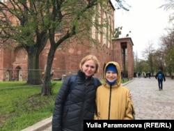 Туристы: Анна и ее сын