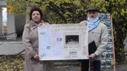 Мурманск. Пикет в поддержку активистов Гринпис