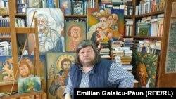 Pictorul Nicolae Guțu