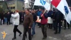 Protest radnika propalih tuzlanskih firmi