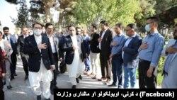 د افغانستان د کرنې او مالدارۍ وزیر انوارالحق احدي