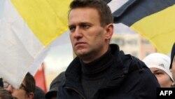"""Алексей Навальный на """"Русском марше"""" в Москве, 2011 год"""
