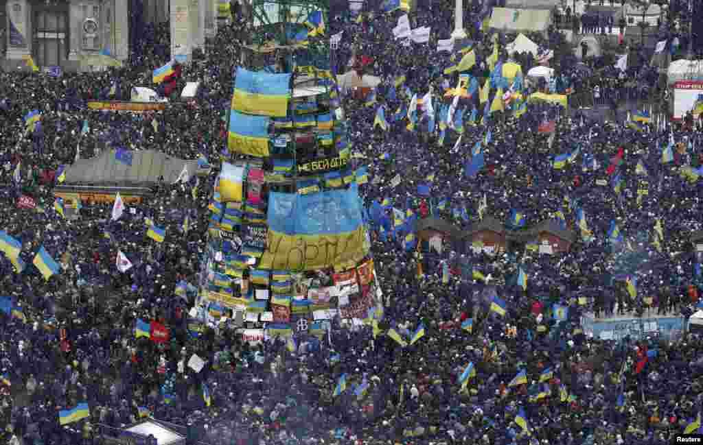 8 грудня. Вулицями столиці проходить«Марш мільйонів»