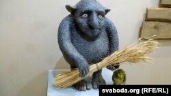 Ёўнік — скульптура з выставы ў магілёўскім музэі