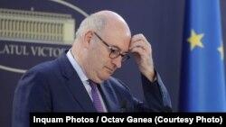 Evropski komesar za trgovinu Fil Hogan