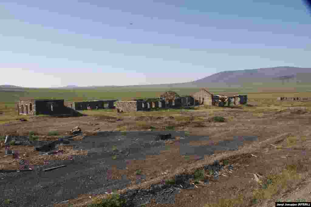The remains of a transit station between the district's main town, Pevek, and the sites of the former gulag camps.