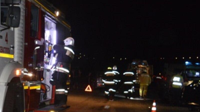 Возле водохранилища под Симферополем ночью перевернулся автомобиль с людьми – спасатели
