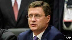 Александр Новак, Ресей энергетика министрі. Стамбул, 12 қазан 2016 жыл.