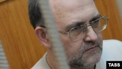 Sergei Krivov in court during his trial in 2013.