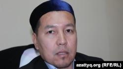 Амантай Садиев, наиб-имам центральной мечети Южно-Казахстанской области. Шымкент, 27 января 2017 года.