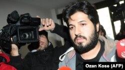 رضا ضراب، تبعه ایرانیتبار ترکیه که متهم به پولشویی و رشوه دادن در ترکیه است.