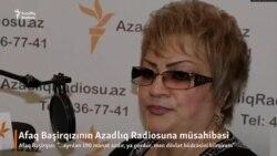 Afaq Bəşirqızı koronavirus, 190 manat yardım haqda...
