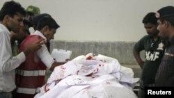Карачиде қаза тапқан саудиялық дипломаттың мәйіті, 16 мамыр 2011