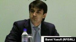 Tajik Football Federation President Rustam Emomali