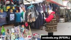 На Цэнтральным рынку ў Горадні