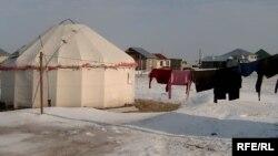 Астана маңындағы ауыл. (Көрнекі сурет)