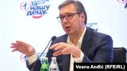 Александар Вучиќ, претседател на Србија