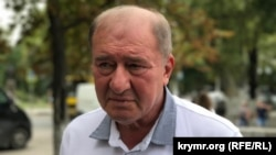 Ilmi Umerov is deputy chairman of the Crimean Tatars' self-governing body, the Mejlis, which is now banned by Moscow. (file photo)