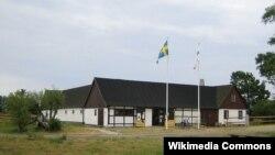 Фермерский дом в местечке Бакакра на юге Швеции (снимок 2006 года, до реконструкции)