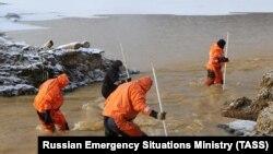 После прорыва дамб в Красноярском крае
