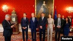 Австри -- Австрин президент ФишерГейнц, стигалкъекъа 18-гIа де, 2016-гIа шо.