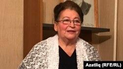 Нәҗибә Сафина Башкортстан Татар иҗтимагый үзәгендә очрашуда