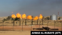 Kirkuk oil fields in Iraq. File photo