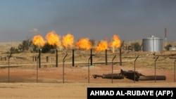 یک میدان نفتی در کرکوک