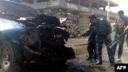 انفجار انتحاری، در شهر رمادی، دستکم ۱۲ نفر کشته برجای گذاشت.