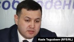Аманжол Мухамедьяров, адвокат. Алматы, 2 февраля 2016 года.
