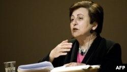 شیرین عبادی، حقوقدان و برنده ایرانی جایزه صلح نوبل