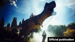 Динозаври в Нікітському ботсаду
