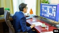 Претседателот на Република Северна Македонија, Стево Пендаровски