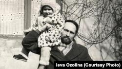 Фото из семейного архива: Борис Осипов с дочерью