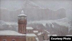 Зима в старом Тбилиси