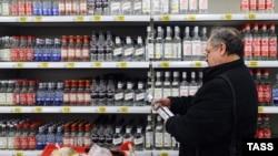 Доля легального алкоголя в общем потреблении в России крепкого спиртного не превышает одной трети