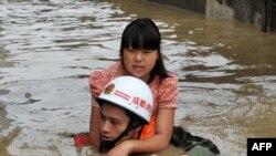 Poplave u Kini 2013. godine, ilustrativna fotografija