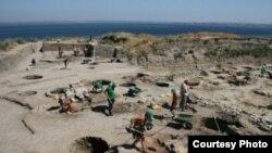 Раскопки в Фанагории