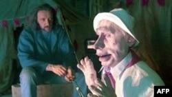Վլադիմիր Պուտինի «տիկնիկը» ՆՏՎ-ի «Տիկնիկներ» («Կուկլի») հաղորդաշարում, մարտ, 2000 թվական