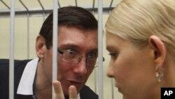 Јулија Тимошенко и нејзиниот бранител