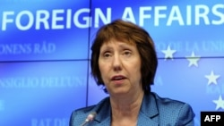 European Union Foreign Affairs and Security Policy Chief Catherine Ashton (file photo)