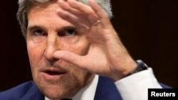 АҚШ мемлекеттік хатшысы Джон Керри. Вашингтон, 3 қыркүйек 2013 жыл.