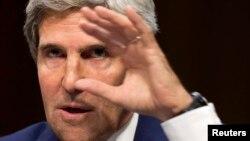 Государственный секретарь США Джон Керри. Вашингтон, 3 сентября 2013 года.